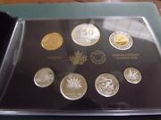 2017 Canada Silver Coin Proof Set 150th Anniversary Our Home And Native Land