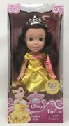 My First Disney Princess Toddler 12 Inch Posable Belle Doll With Brush And Mirror