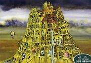 500piece Jigsaw Puzzle Tower Of Babel Hobby Home Decoration Diy