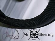 For Panhard 24 1964-1967 Perforated Leather Steering Wheel Cover Double Stitch