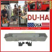 Du-ha For 88-99 Chevy Gmc C/k Extended Cab Black 10037 Underseat Storage