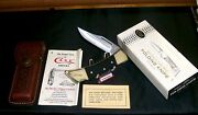 Case Xx 2159 Lockback Knife And Sheath Circa1990's W/original Packaging And Papers