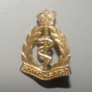 9ct Gold Pin Badge Ww2 South African Army Medical Corps Samc Sagd Military