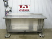 6and039 X 26 Heavy Duty Stainless Steel Kitchen Cabinet Work Prep Table 72 X 2and039 2