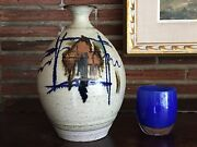 Robert Sperry Large Art Pottery Ceramic Vase Vessel Noted NW Artist