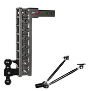 Gen-y Drop Hitch 2 Receiver Class Iv 10k Towing, Ball Mount And Pintle, Gh-328