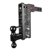 Gen-y Drop Hitch 2receiver Class Iv 10k Towing,10 Drop, Ball And Pintle Gh-325