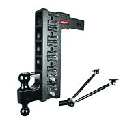 Gen-y Drop Hitch 2.5 Receiver 15 Drop 21k Ball Pintle And Stabilizer Kit