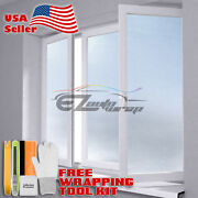 【frosted Film】 Glass Home Bathroom Window Security Privacy Sticker 01
