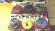 5x40'18g+1speaker Wire,6 Colors,5 Automotive Primary Wire Rolls Quality Made