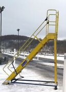 10 Step Fiberglass Work Ladder Electrical Contracting Louisville Free Ship