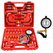 0-140 Psi Fuel Injection Pump Injector Tester Tool Test Pressure Gauge For Truck