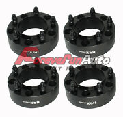 4pc 2 5x150 Black Hub Centric Wheel Spacers Adapters For Toyota Tundra Lexus