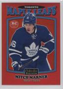 Mitch Marner 2016-17 O Pee Chee Hockey Red Rainbow R-88 Rookie 14/15