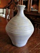 UNIQUE PIGEON FORGE HAND THROWN VASE by E. OWNBY