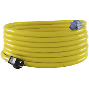 Conntek 14511 Heavy Duty 15 Amp 125v Stw 10/3 Power Extension Cord, 25ft. Yellow