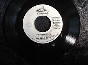 The Beach Boys Itand039s Getting Late Collectible 45 Rpm Record Caribou Records Label