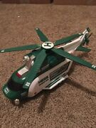 2012 Hess Toy Helicopter And Rescue Hess Truck