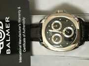 Rare - Balmer Collectible Stainless Automatic Black Dial Ltd. Edition