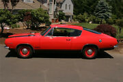 1969 Plymouth Barracuda Cuda Lower Body White Stripe Kit. With 340 Lettering.