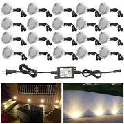 20x61mm Ip67 Led Decking Sofit Light Outdoor Garden Yard Pathway Stair Lamp 1.5w