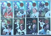 1997 Collector's Edge Extreme Game Gear Quads Complete Set Of 18