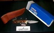 Schrade 156 Litand039l Finger Knife John Deere H. Williams 2014 W/packaging And Papers