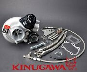 Kinugawa Billet Turbocharger 2.4 Td05h-18g And Blow Off Valve And 8cm T25 Housing