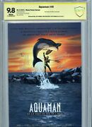 Aquaman 40 Dc New 52 Free Willy Movie Poster Variant Cbcs 9.8 Ss Movie 2018