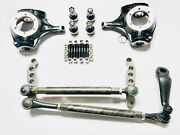 Gm/chevy/jeep Dana 44 Complete 1-ton Crossover High Steer Kit-w/knuckles And Dom
