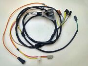 1967 67 Chevelle El Camino Engine Starter Wiring Harness With Gauges 396 Hei Ss