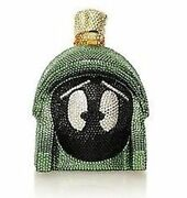 925 Sterling Silver Customized Rare Marvin The Martian Cz Pendant Free Shipping