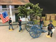 Alymer Sa Made In Spain Metal Toy Soldiers 240/a American Civil War Union 1861