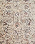 12and039x15and039 Loloi Rug Porcia Polyester Ivory Multi Color Power-loomed Transitional P