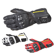 Fast Free Shipping Scorpion Sg3 Mkii Leather Street Motorcycle Glove Mens Long