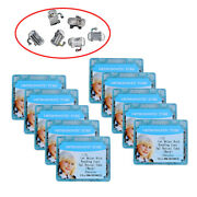 Dental Orthodontic Tube 022 Roth Bonding Convertible Single With Mark ,10 Boxes