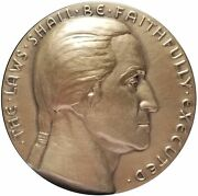 Rw Julian The Degradation Of Our Justice System 1981 Bronze Medal 63mm 1125-13