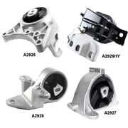 Engine And Trans Mounts 4pcs Set Fits Chrysler Townandcountry And Dodge Caravan Fwd