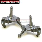 Ford Pinto Mustang Ii 2 74-80 Forged Spindles 2 Drop Lower Streetrod Suspension
