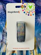 New Disney Parks Happily Ever After Fireworks Gray Magicband 2