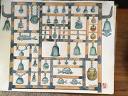Watercolor Of Mauna Kea Resorts Temple Bells Collection In Hawaii By Marcia Ray