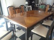 Thomasville Dining Set 9 Piece Used Great Condition