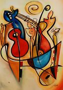 One More Time By Alfred Gockel Contemporary Fine Art Painting On Canvas