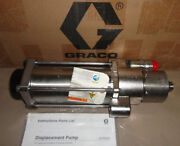Graco 218746 Displacement Pump Stainless Steel New