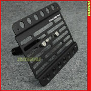 Multi Angle Tow Hook License Plate Holder For 2009-2012 Nissan 370z