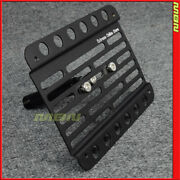 Multi Angle Tow Hook License Plate Holder 2009-2016 Audi S4 B8