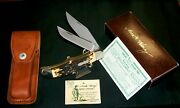 Schrade 227uh Knife Serial 98831 Uncle Henry 1970and039s Folding Bowie W/packaging