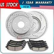 Front And Rear Brake Rotors And Pads For Chevrolet Blazer Gmc Sonoma Oldsmobile