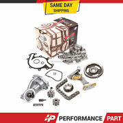 Timing Chain Kit Water Oil Pump For 96-04 Ford Freestar Windstar Mercury 3.8 Ohv