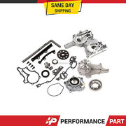 Timing Chain Kit Oil Water Pump Cover For 83-84 Toyota Pickup Celica 22r